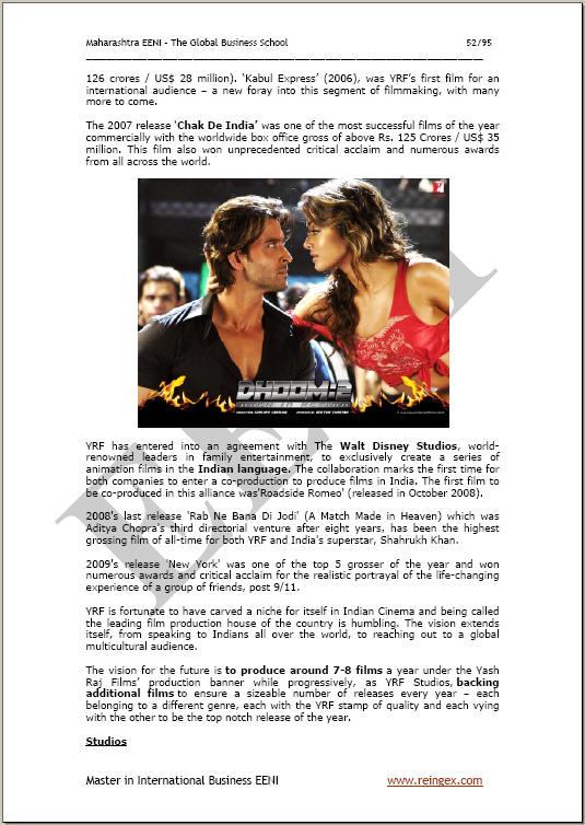 essay on film industry in bombay