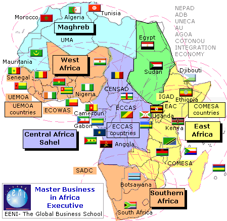 Negocios en frica econom a africana nigeria egipto for Educacion exterior marruecos