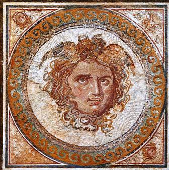 Tarragona mosaik Medusa