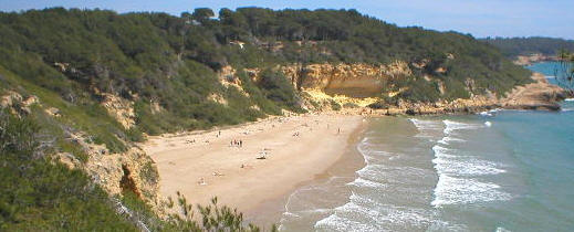 praias Tarragona