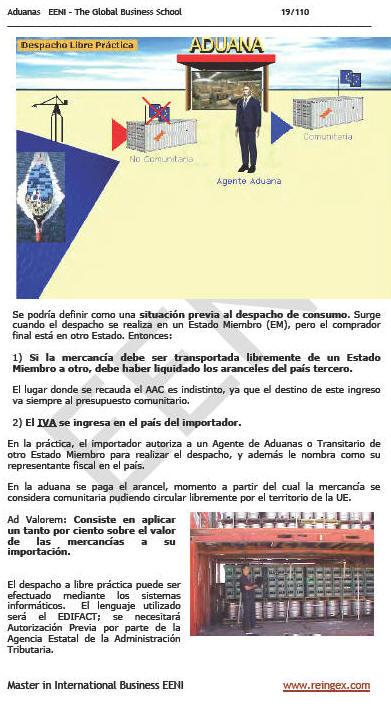 Master Online: Aduanas Comercio Exterior