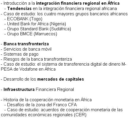 Àfrica finançament