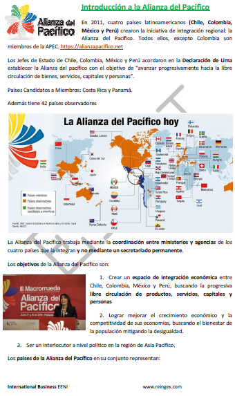 Aliança do Pacífico (Mestrado EAD, América)