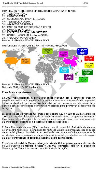 Brazil Amazonas Business