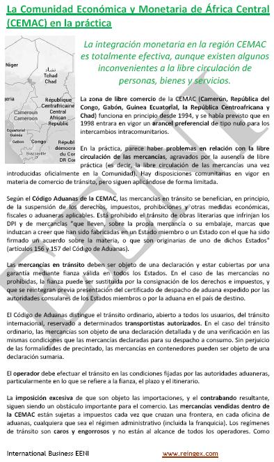 Comunitat Econòmica i Monetària de l'Àfrica Central (CEMAC)