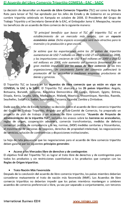 COMESA-EAC-SADC Tripartit
