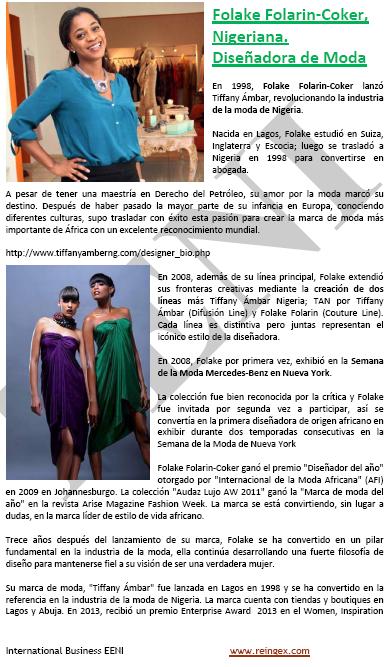 Folake Folarin-Coker (dissenyadora, Nigèria)