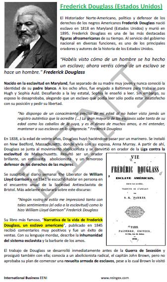 Frederick Douglass Diáspora (Doutoramento)