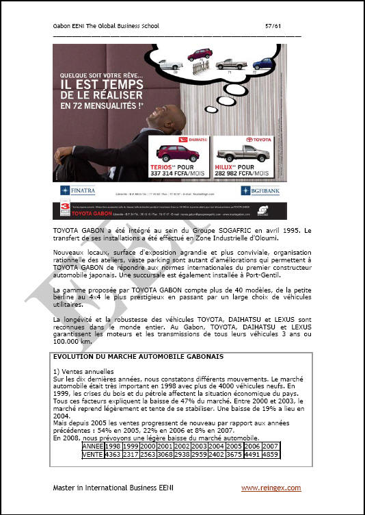 Fent negocis Gabon