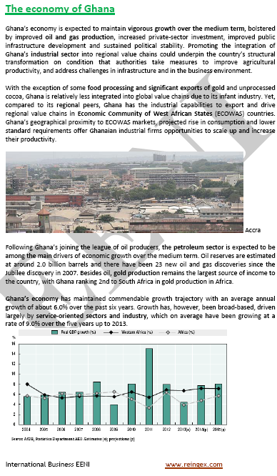 Curs Màster: negocis a Ghana