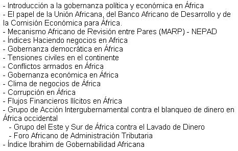 Governança Àfrica