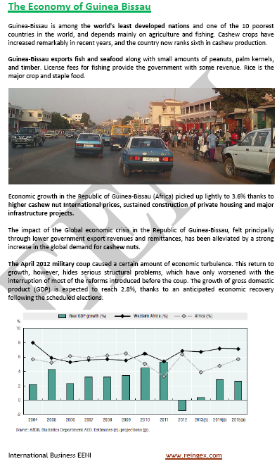 Master Curs: Comerç exterior i negocis a Guinea-Bissau