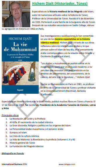 Hichem Djaït, historiador tunisiano