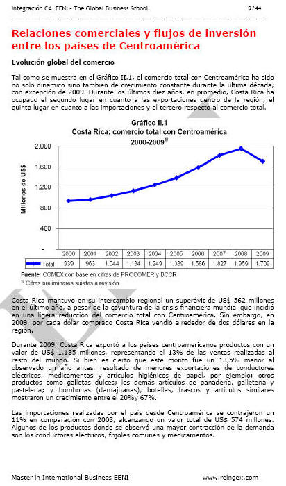 Sistema De Comercio Centroamericano - Secretara de Integracin Econmica Centroamericana sieca