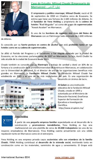 Miloud Chaabi, empresari del Marroc