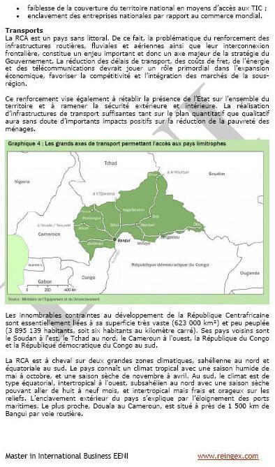 Fent negocis a la República Centreafricana