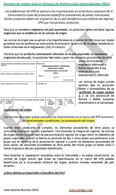 Documentos de comercio exterior certificado origen for Significado de exterior
