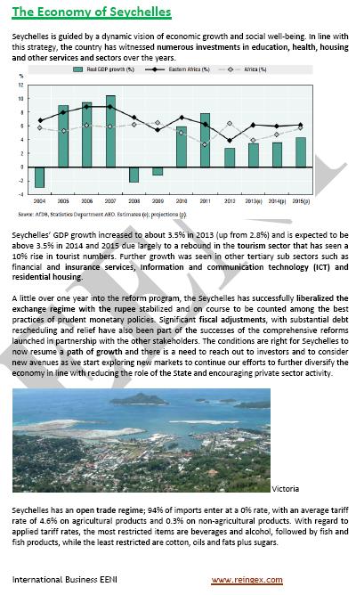 Master Curs: Comerç exterior i negocis a les Seychelles