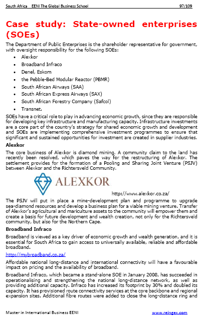 Empreses de Sud-àfrica