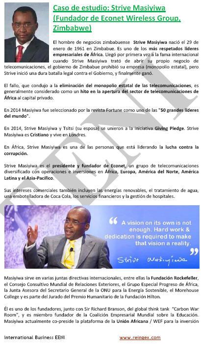 Strive Masiyiwa, home de negocis zimbabwès