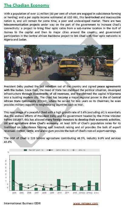 Curs: Fent negocis al Txad