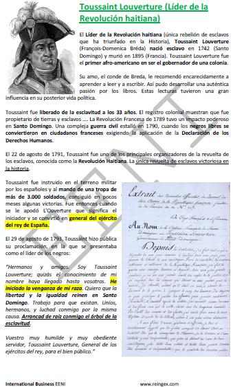 Toussaint Louverture Diáspora (Doutoramento)
